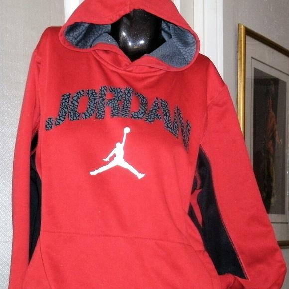 Jordan Other -  270 JORDAN UNISEX Black   Red Hoodie 2eaf81a93